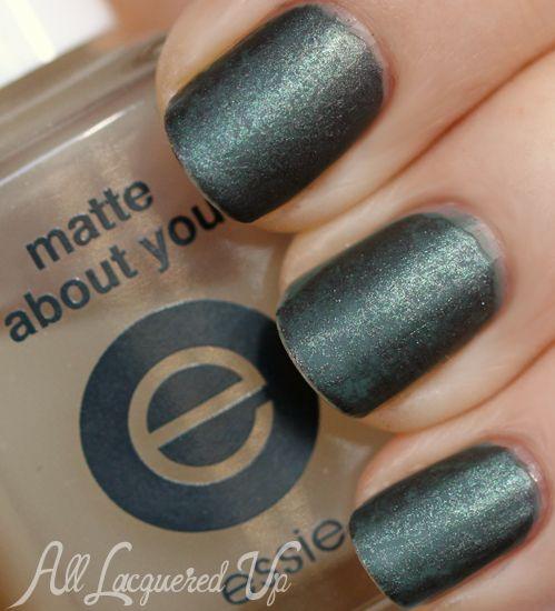 Matte Marble #NailArt with @essie fall #nailpolish colors