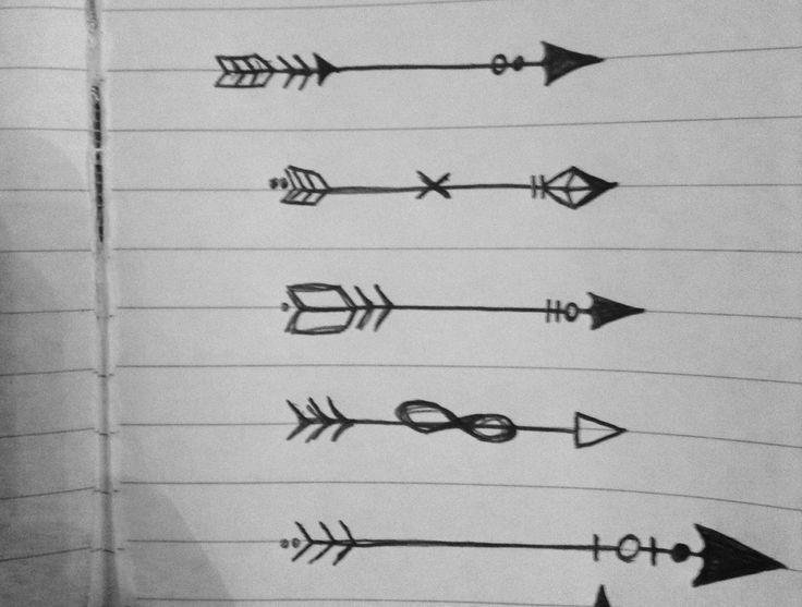 Classroom Design Arrow Or X : Tatuaje de flechas diseño plantillas buscar con google