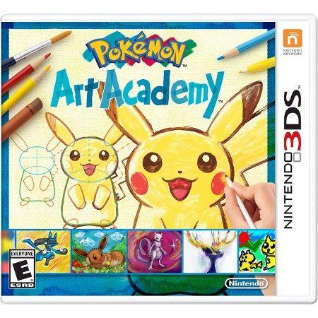 Pokemon Art Academy (Nintendo 3DS) : Target