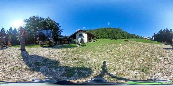 Alm Malga Kraun - 360° Foto