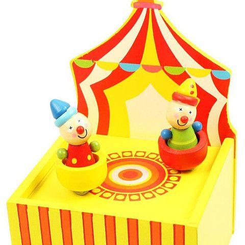 Bumbling Circus Music Box | When I Was a Kid