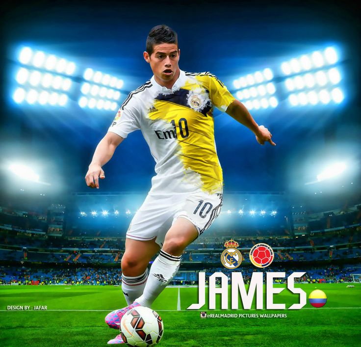 James Rodriguez Real Madrid Wallpaper by jafarjeef.deviantart.com on @deviantART