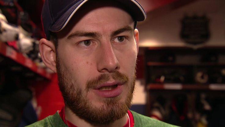 Was passiert vor einem NHL-Playoff-Spiel in der Kabine? Philipp Grubauer hat uns mit hinter die Kulissen genommen.  ⏩http://www.sportschau.de/weitere/eishockey/nhl/video-draisaitl-und-grubauer-traeumen-vom-nhl-titel-100.html