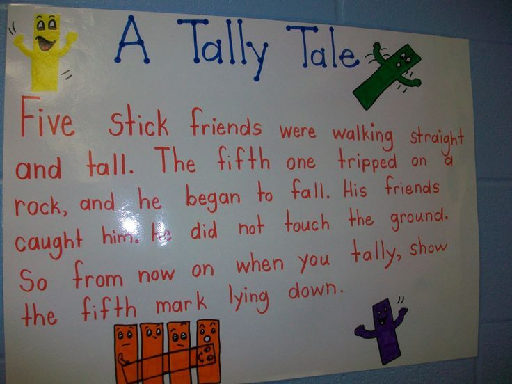 Tally Tale from Mrs. Wheeler's First Grade - this would be a great way to teach tally marks!  It would go along well with the song I learned: Tally marks are straight and tall, the fifth one is diagonal...