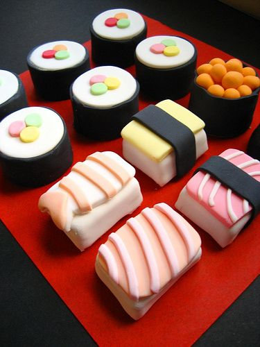 sushi! by hello naomi, via Flickr