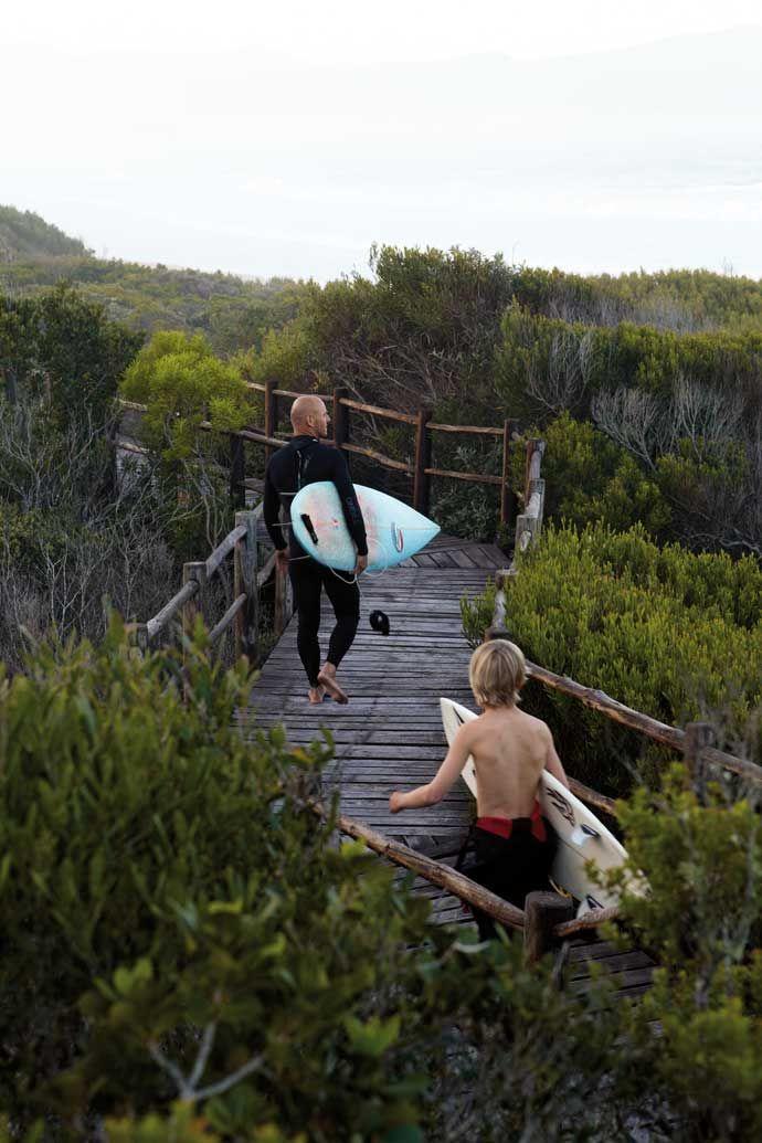 Plettenberg Bay surfer's home