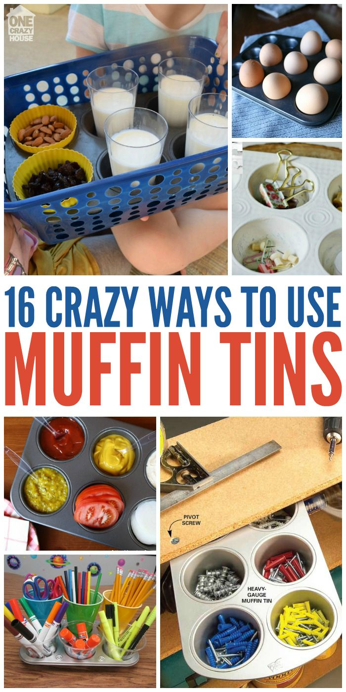 16 Crazy Ways to Use Muffin Tins - One Crazy House