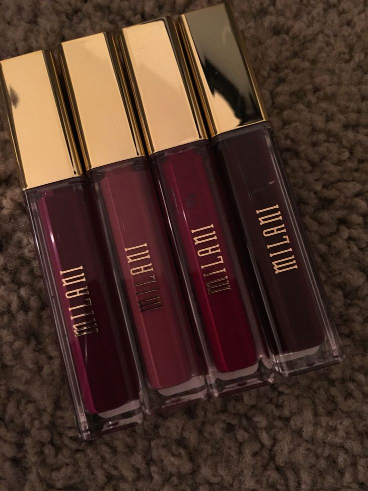 Bought these #Milani liquid lip cremes. Amazing!! And dries matte. Didn't pay full price thanks to coupons. #obsessed