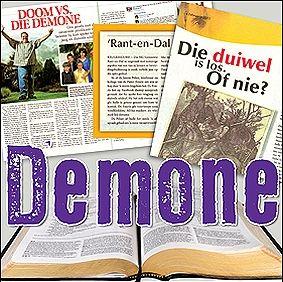 Demone: Wat Se Die Bybel?