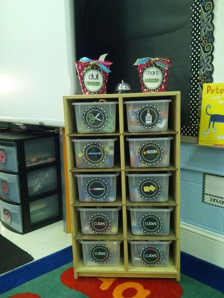 Great ideas for classroom organization # Pinterest++ for iPad #