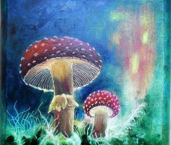 Art  Oil Painting  Original Painting Magic by kezulegsajat on Etsy