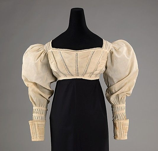 1825 American Cotton Bodice