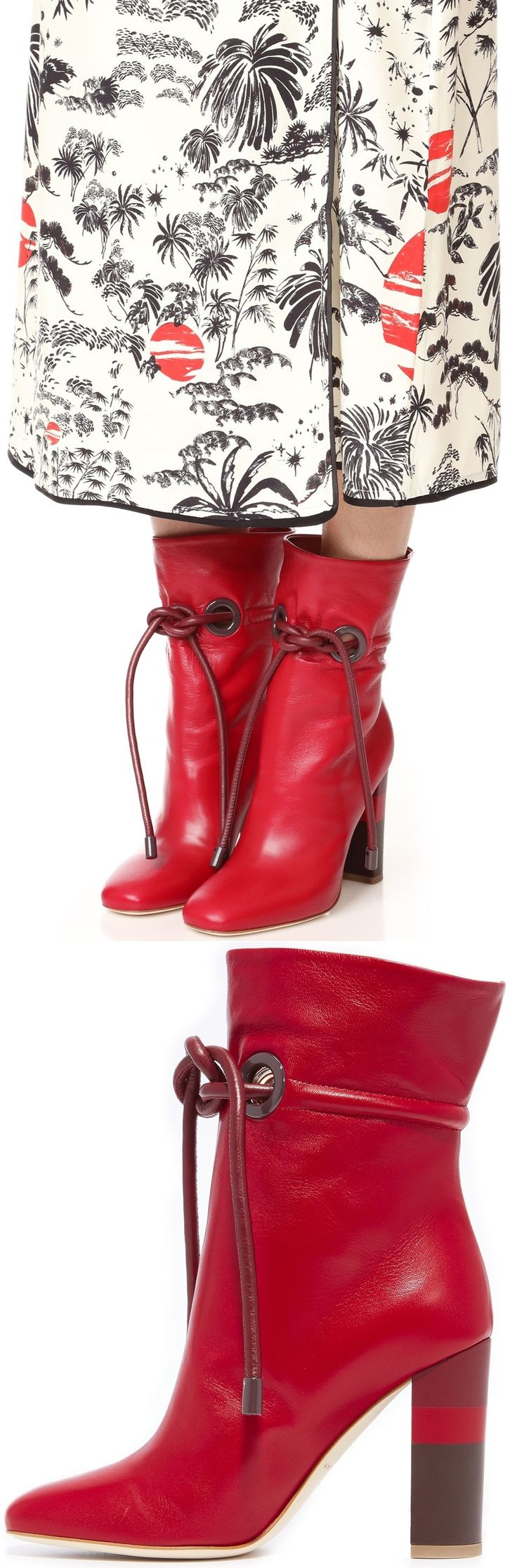 Malone Souliers Dolly Tie Booties