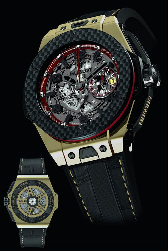 If one thought that the timepiece released by Hublot for a price of $5 million was astronomical, it may be mentioned that this watch saw immediate success among the rich and famous. This has prompted the watchmakers Hublot to launch one such priceless timepiece in association with luxury automakers – Ferrari. Ricardo Guadalupe, chief executive of Hublot was in Auckland on Friday night to launch the Ferrari Big Bang Watch. It is being offered in ...