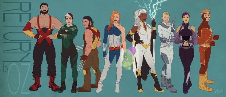 X-Men: Return To Oz by Lightengale