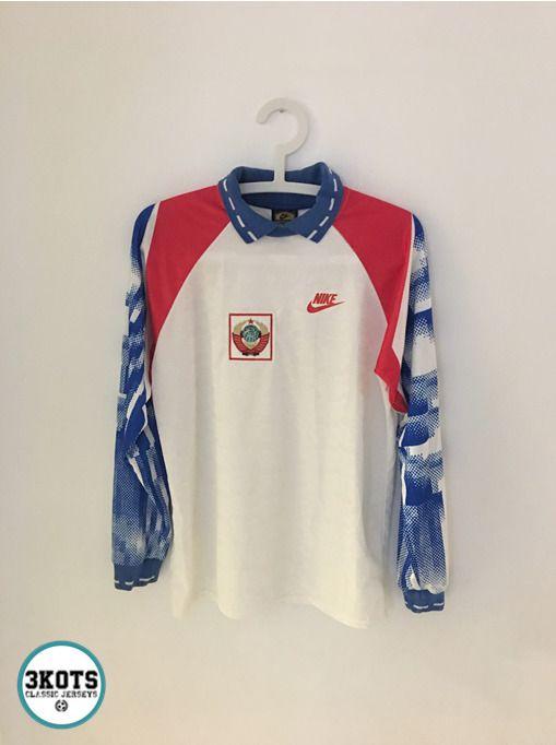 d7d97127faa URSS CCCP RUSSIA 1992 Sport Football Shirt (L) Soccer Jersey NIKE Vintage  Maglia #ADIDAS #Jerseys #CCCP #URSS #Footballshirts #Soccerjereys