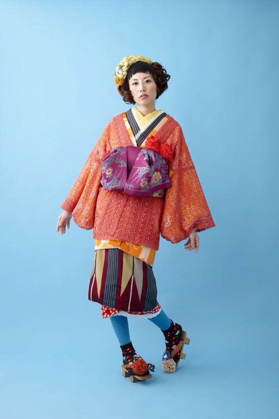 Modern kimono