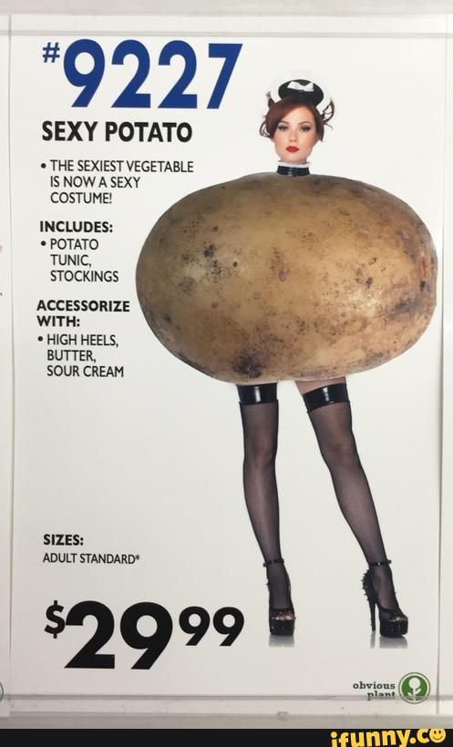 sexy, potato, halloween, costume