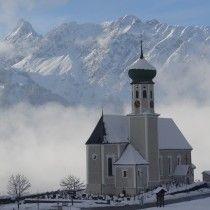 Schruns, Kirche Hl. Jodok (Bludenz) Vorarlberg AUT