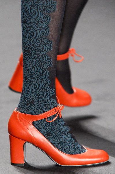 Anna Sui at New York Fashion Week Fall 2013 - Details Runway Photos