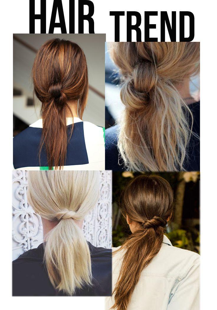 #hairinspo #hair #knot #ponytail