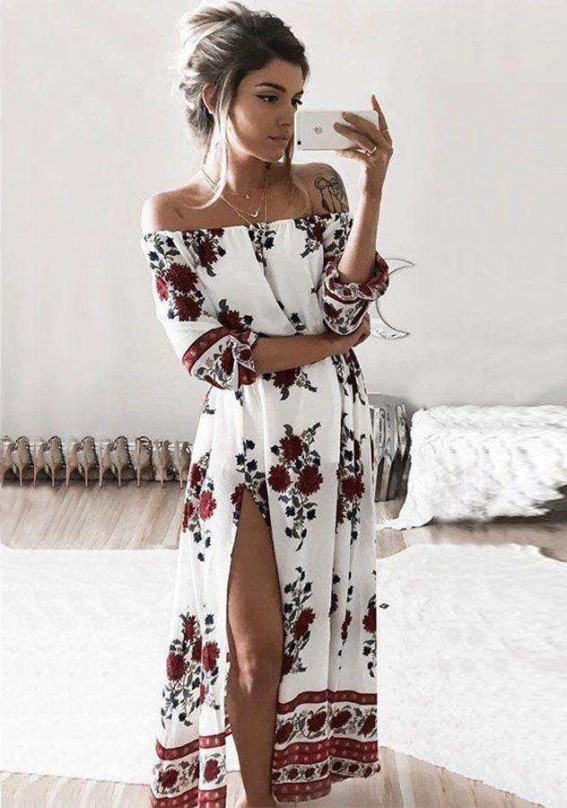 Boulee cruz maxi dress pinstripes