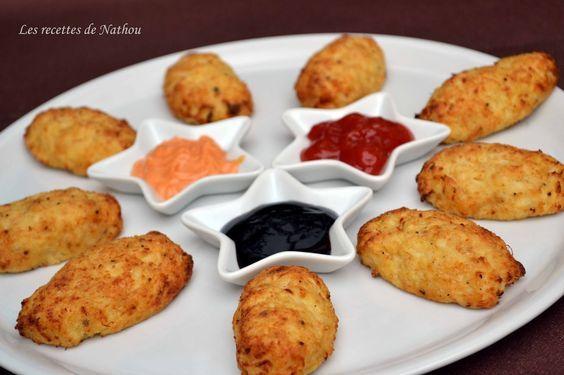 Les recettes de Nathou: Croquettes de chou-fleur au parmesan (au four)