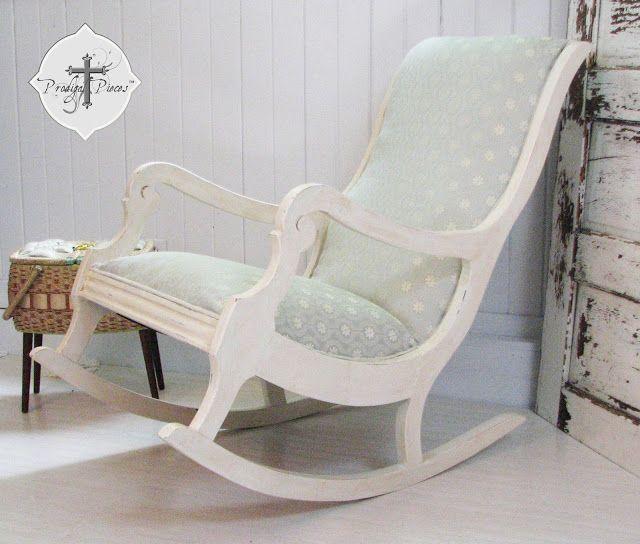 Reupholster & Paint a Rocking Chair, Part 3 | I'm Crafty | Pinterest | Rocking  Chair, Chair and Upholstered rocking chairs - Reupholster & Paint A Rocking Chair, Part 3 I'm Crafty Pinterest