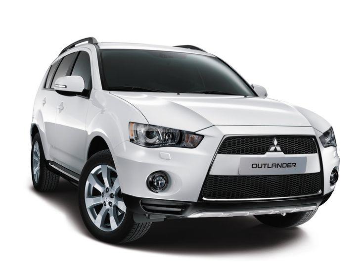 """Mitsubishi Outlander """"35 Jahre"""" '04.2012"""