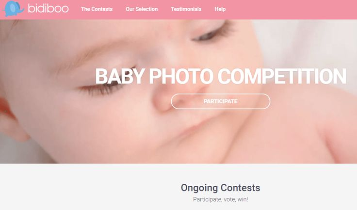 Bidiboo Cutest Baby Contest is one of the top contest, Just put your baby entry for Bidiboo Cutest Baby Contest and win Grand Prize.