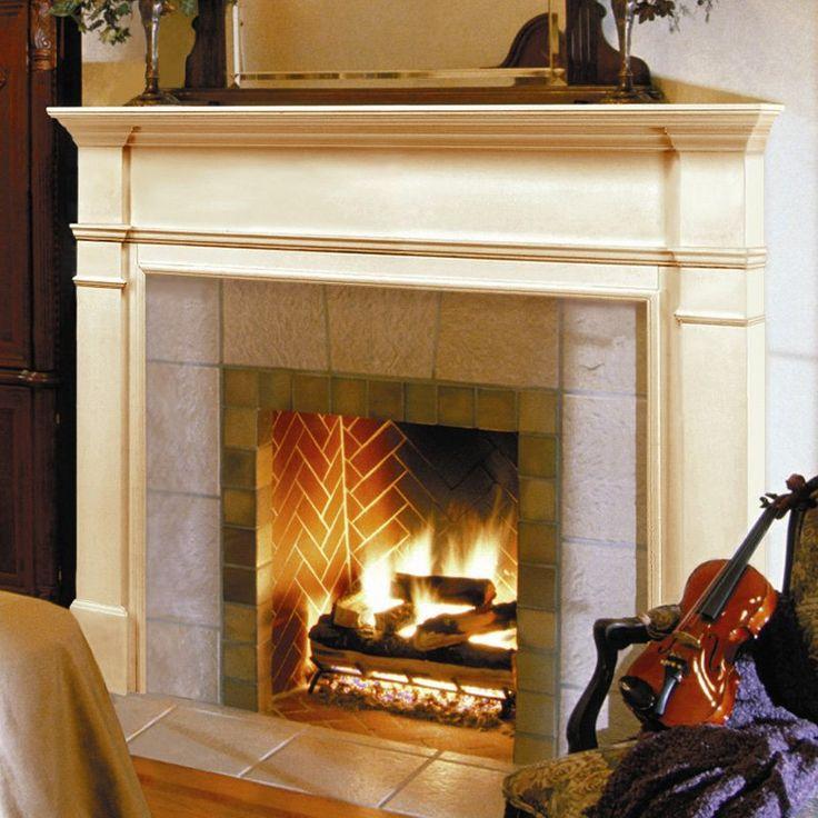 Wood Fireplace Mantel Surround Part - 17: Best 25+ Fireplace Mantel Surrounds Ideas On Pinterest   Diy Fireplace  Mantel, Faux Fireplace Mantels And Diy Mantel