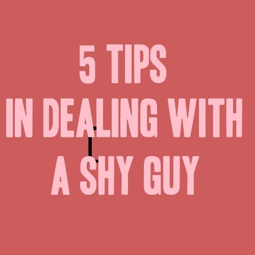 dating tips for shy girls artist