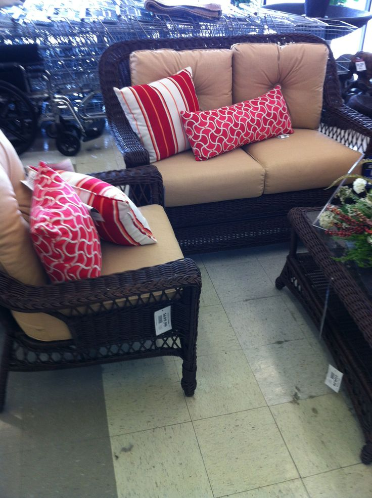 tucson outdoor resin wicker seating group from