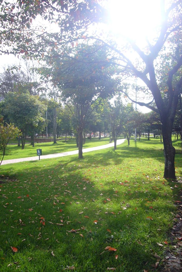 Bogotá,  el Parque del Virrey, cll 86
