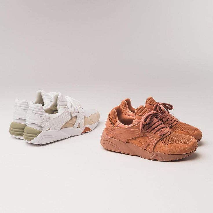 size 40 1bddf 0a94b Puma x Han Kjobenhavn Blaze Cage White   Cameo Brown Credit   Overkill    Men s Sneakers   Pinterest   Pumas, Latest sneakers and Brown