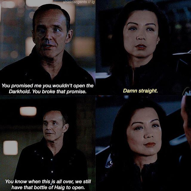 "+ [4.07 ""Deals With Our Devil's""] I honestly will shoot someone if something happens to May like wtf give her a break —  #agentsofshield #aos #marvel #philinda #shieldacgentscenes"