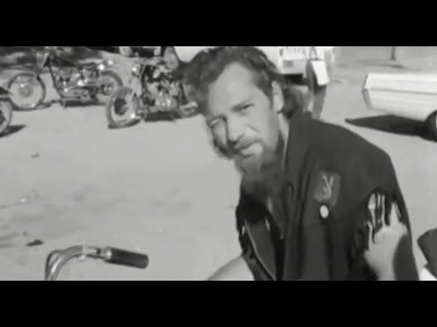 Hells Angels - TV News Interview With Sonny Barger (1965)