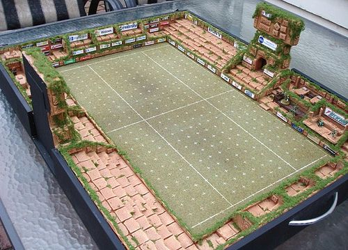 Another view of the Blood Bowl Pitch - fully opened.