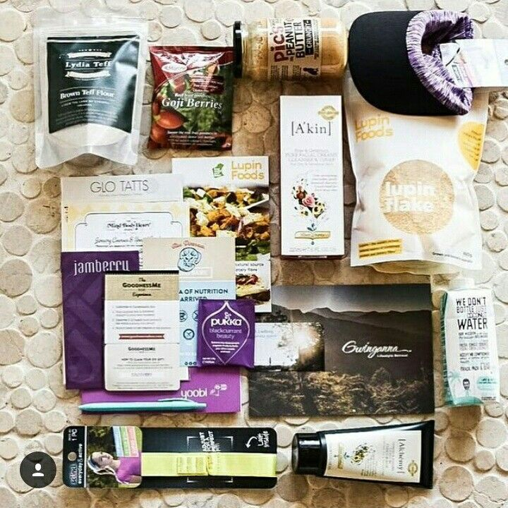 It was great to have been part of the goodie bag for @relauncher_alison 's workshop in Perth ☺.  @almondbreezeaus @akin.skincare @scunci_hair @glotatts @lupinfoods @morelife_ @picspeanutbutter @pukkaherbsaustralia @yoobiaustralia @jamberry @tashdrummondhay #teff #Lydiateff #protein #health #fibre #foodie #goodiebag #tuesday