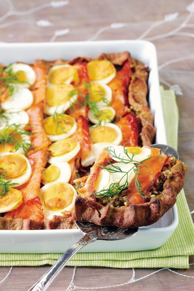 Lohi-munapiirakka | K-ruoka
