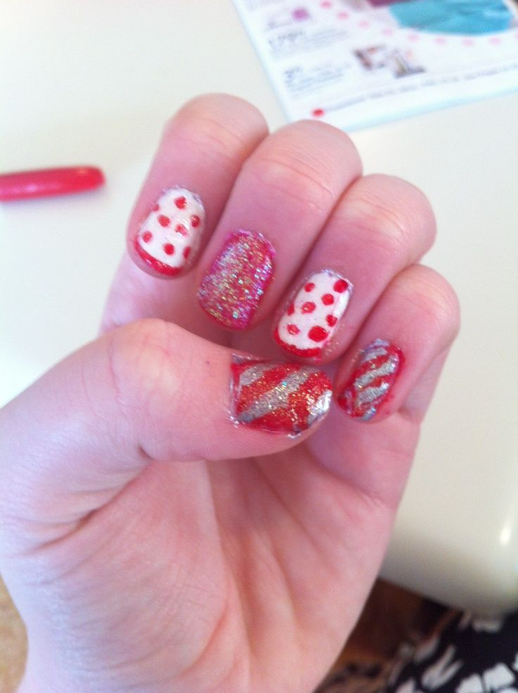 valentines day nails on pinterest
