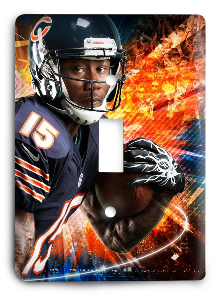 Brandon Marshall Chicago Bears STRONG Light Switch Cover