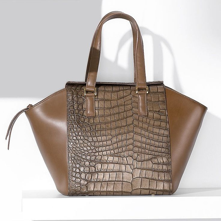 Croc Trapeze Bag from Pia Jewellery