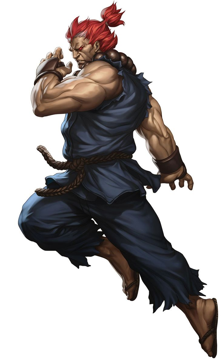 "Akuma:  the Kazuya Mashima of street fighter. Ryu's father and master of the dark hidoe which is basically the ""Devil Gene"""
