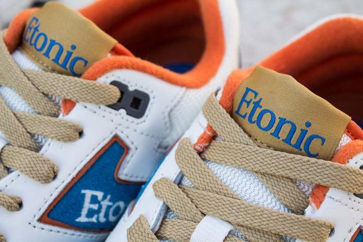 ETONIC TRAN AM PERF BRIGHT BLUE GREY ORANGE www.cornerstreet.fr