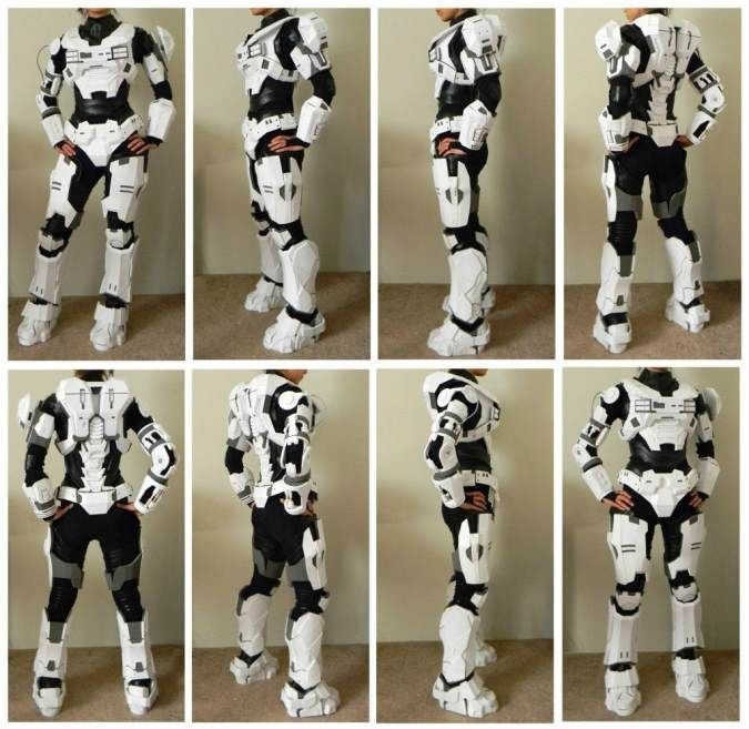 Foam armor suit step-by-step for ideas and techniques