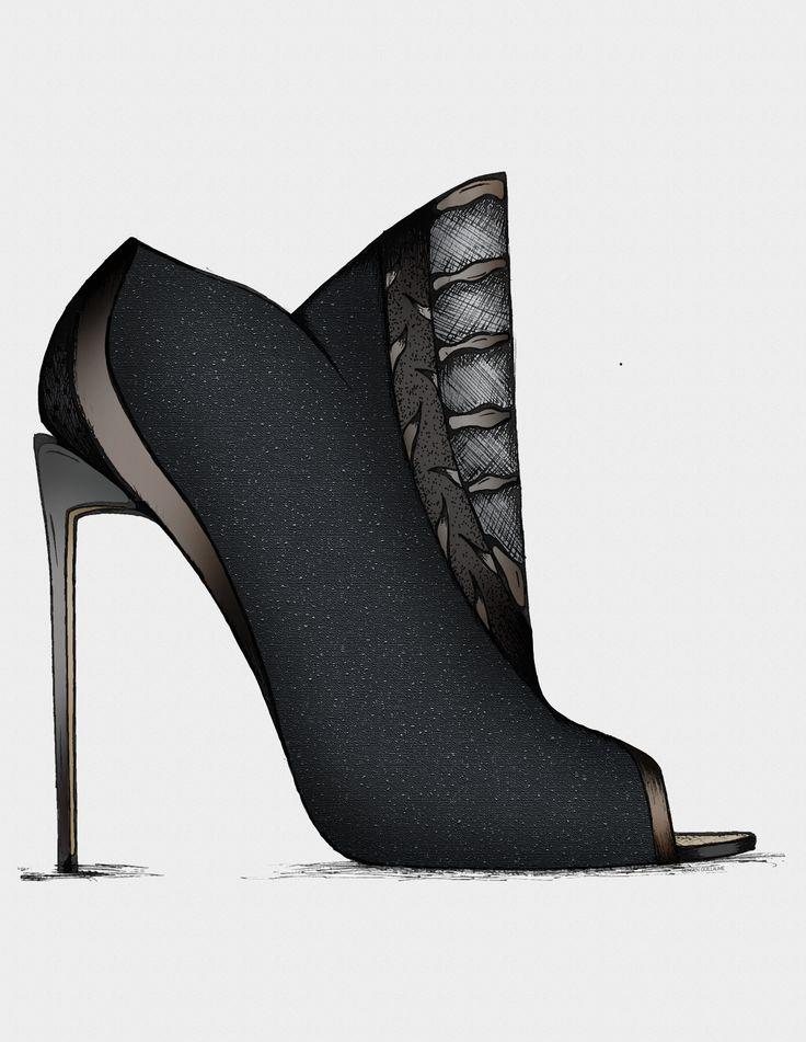 Mandragore - Guillaume Bergen L'Aventurière - Capsule Collection'15 #Fashion #Sketch