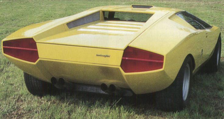 1971 Lamborghini Countach Lp500 Exotic Cars Pinterest