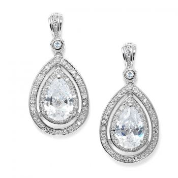 Madeleine Vintage Wedding Earrings