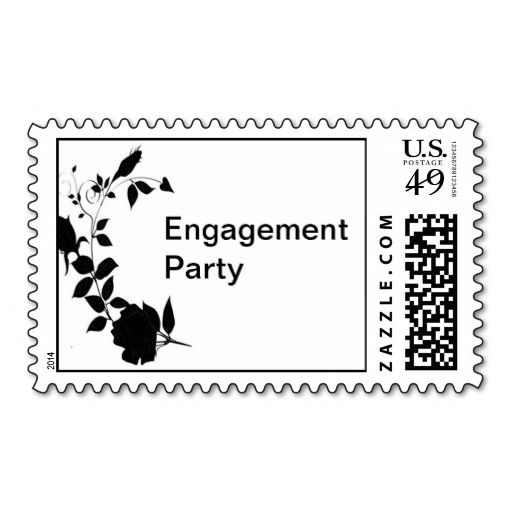 301 best Engagement Party Postage Stamps images on Pinterest - letter of engagement template free